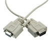 Null Modem Cable, DB9 Male to DB9 Female, UL rated, 8 Conductor