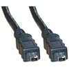 WholesaleCables.com 10E3-03103 3ft Firewire 400 4 Pin cable IEEE-1394a