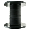 WholesaleCables.com 10F3-302NH 1000ft 2 Fiber Indoor/Outdoor Fiber Optic Cable, Multimode, 50/125, OM3, 10 Gbit, Black, Riser Rated, Spool