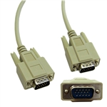 WholesaleCables.com 10H1-01106 6ft VGA Cable Low resolution HD15 Male 15 Conductor