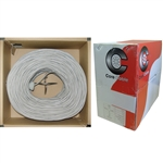 WholesaleCables.com 10K4-0221SH 1000ft Security/Alarm Wire Gray 22/2 (22AWG 2 Conductor) Stranded CM / Inwall rated Pullbox