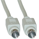 WholesaleCables.com 10M3-04106 6ft Apple Serial cable MiniDin8 Male 8 Conductor