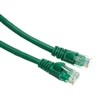 WholesaleCables.com 10X6-05105 5ft Cat5e Green Ethernet Patch Cable Snagless/Molded Boot