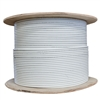 WholesaleCables.com 10X6-591NH 1000ft Shielded STP Cat5e White Ethernet Cable Solid Spool