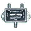 WholesaleCables.com 200-310 F-pin Coaxial Slide Switch 2 Way 75/75/75 Ohm