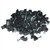 200-955 100 pieces RG59 Cable Clip Black