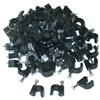 WholesaleCables.com 200-960 100 pieces RG6 Cable Clip Black
