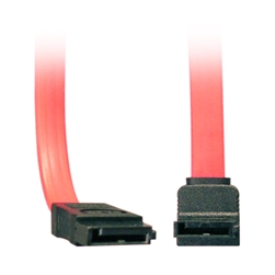WholesaleCables.com 21SA-5005M 0.5meter 1.5ft Serial ATA (SATA) Cable Single Right Angle Connector Internal