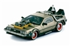 WholesaleCables.com Back to The Future III Delorean (1981 1:18 Stainless Steel) 2712