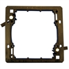 WholesaleCables.com 3031-11200 Wall Plate Mounting Bracket Nylon Low Voltage Dual Gang