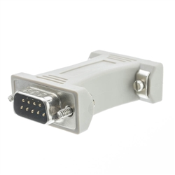 WholesaleCables.com 30D1-08100 Serial / AT Modem Adapter DB9 Male to DB9 Male