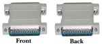 WholesaleCables.com 30D3-21100 DB25 Coupler / Gender Changer DB25 Male to DB25 Male