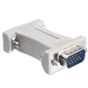 WholesaleCables.com 30H1-06100 VGA Coupler / Gender Changer HD15 Male to HD15 Male