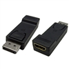 WholesaleCables.com 30H1-61000 DisplayPort to HDMI Adapter DisplayPort Male to HDMI Female