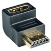 WholesaleCables.com 30HH-50200 HDMI Right Angle Adapter HDMI Male to HDMI Female 90 Degree Adapter