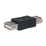WholesaleCables.com 30U1-02400 USB Coupler / Gender Changer Type A Female to Type A Female