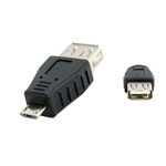 WholesaleCables.com 30U1-06100 USB A Female to USB Micro B Male Adapter
