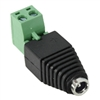 WholesaleCables.com 30W1-00210 DC Female Power Plug to 2 Pin Terminal (Screw Down) Adapter