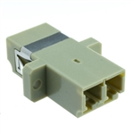 WholesaleCables.com 31F2-LL410 LC Female Fiber Optic Coupler, Duplex