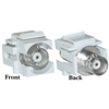 WholesaleCables.com 330-120WH Keystone Insert White BNC Female Coupler