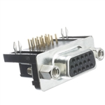 WholesaleCables.com 3309-115F HD15 Female VGA / PC Video Crimp Housing