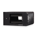 WholesaleCables.com 61C2-11106 Rackmount Swing Out Wall Mount Cabinet 6U