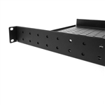 WholesaleCables.com 61S2-23101 Rackmount Vented 4 Point Adjustable Shelf 1U