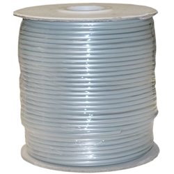 8604-1000F-28 1000ft Bulk Phone Cord Silver Satin 28/4 (28 AWG 4 Conductor) Spool