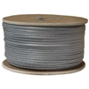 WholesaleCables.com 8606-1000F 1000ft Bulk Phone Cord Silver Satin 28/6 (28 AWG 6 Conductor) Spool