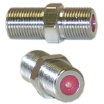 WholesaleCables.com ASF-20057 F-pin Coaxial Coupler 1GHz F81 F-pin Female