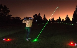 WholesaleCables.com Glow LED Light-Up Golf Ball 2 pack - Glow in the dark