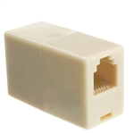 WholesaleCables.com MC-6P6C-RE Inline Telephone Coupler (Voice) RJ12 6P / 6C