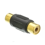 WholesaleCables.com RCA-FFG RCA Coupler RCA Female Gold