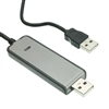WholesaleCables.com UD-A20 6ft USB 2.0 High Speed File Transfer Data Link Cable
