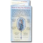 How to Pray the Rosary Pamphlet