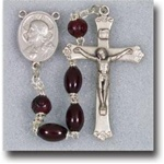 Genuine Cocoa Bead Rosary