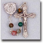 Genuine India Agate Rosary