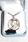Sacred Heart of Jesus Sterling Silver Medal