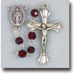 January Birthstone Rosary