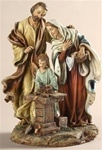 Holy Family in Workshop - 9.5 Inch