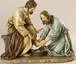 Jesus Washing Feet - 6.5 Inch