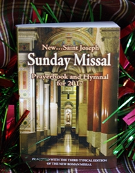 New Saint Joseph Sunday Missal - Prayer book and Hymnal - 2018