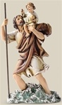 Saint Christopher Statue - 6 Inch