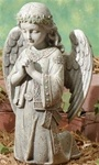 Kneeling Angel Praying Figure - 12.25 Inch