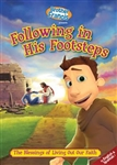 Following in His Footsteps DVD- Texas Catholic Superstore