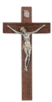 "7"" Walnut Crucifix- Texas Catholic Superstore"