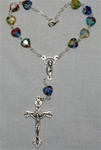 Murano Heart Shaped Auto Rosary