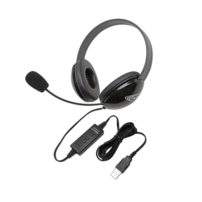 2800BK-USB Listening First Stereo Headset