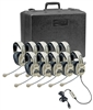 3066USB-10 Deluxe Multimedia Stereo Headset Ten-Pack with Case