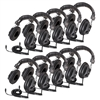 Classroom 10-Pack of 3068AV Stereo Headphones